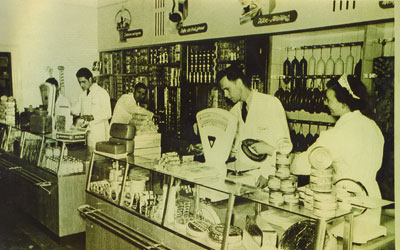 Alter markt innen 1978