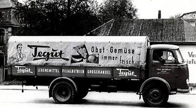Erster obstlaster 1958