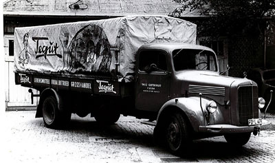 Erster tegut LKW 1954
