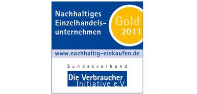 Verbraucherpreis goldmedaille sept11