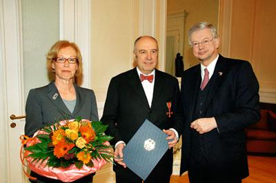 Verleihung bundesverdienstkreuz 2008