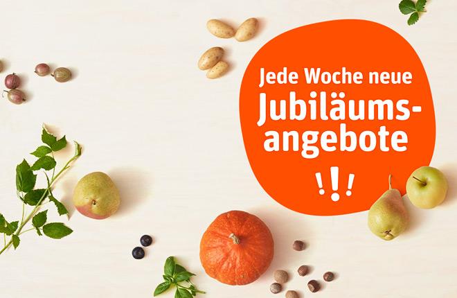 Banner 70 Jahre Jubiläumsangebote