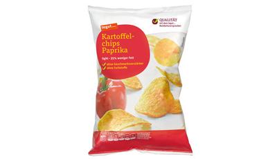 Tegut Kartoffel Chips Paprika
