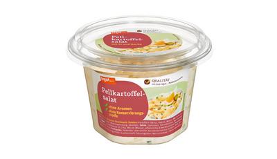 eine Schale Tegut Pellkartoffel-Salat