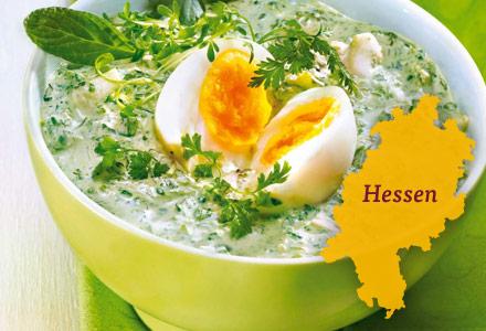 Frankfurter Grüne Sauce mit Kräutern und Ei