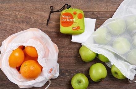 Mehrwebeutel für Obst und Gemüse