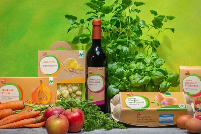 tegut Eigenmarken Bio-Produkte