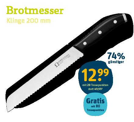 OMEGA Brotmesser