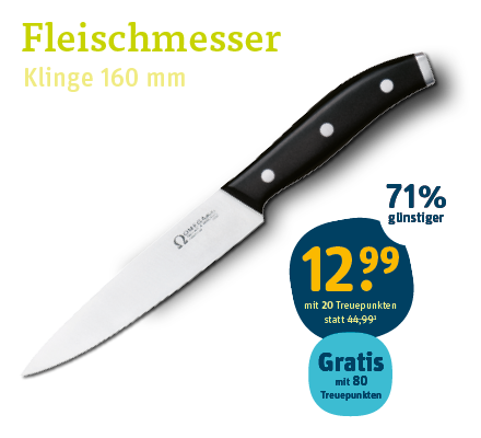 OMEGA Fleischmesser