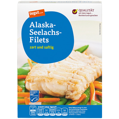 Alaska Seelachsfilet