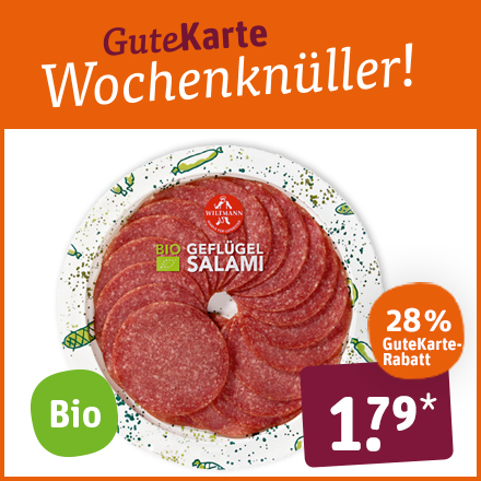 Bio Geflügel Salami