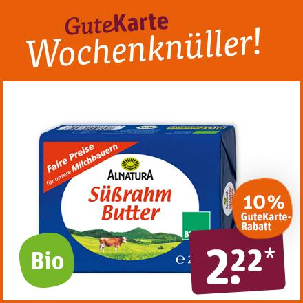 Alnatura Süßrahm Butter