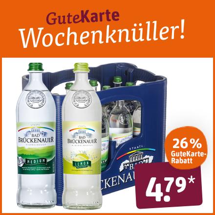 Bad Brückenauer Wasser Medium und Lemon
