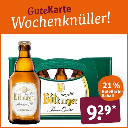 Bitburger Premium Qualität
