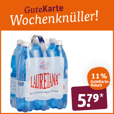 Laurentana Wasser Sixpack