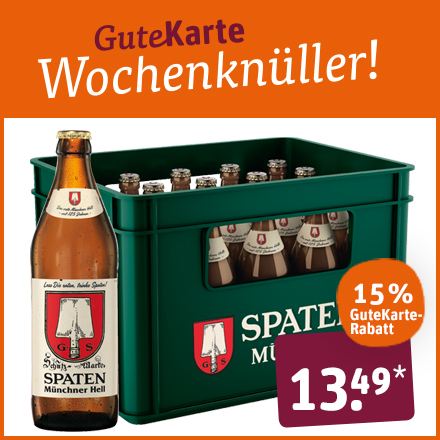 Spaten Münchner Hell Kasten