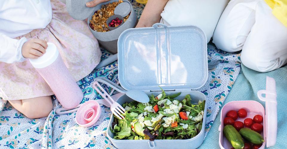 Picknickdecke mit Pickick-Verpflegung