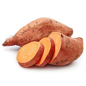 Freisteller Suesskartoffeln