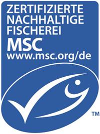 Blaues MSC Siegel