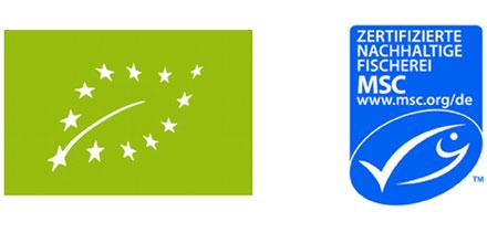 EU- und MSC-Siegel