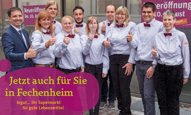 Mitarbeiter-Team des Marktes Frankfurt-Fechenheim