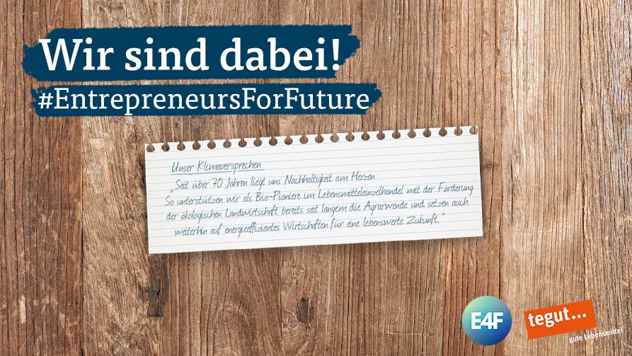 tegut entrepreneurs4future Unterzeichung 2019
