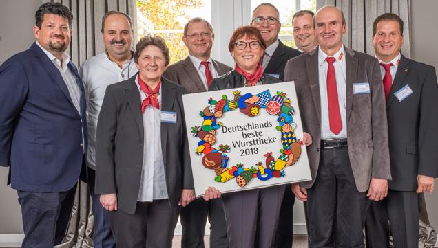 Tegut Bad Brueckenau Auszeichnung beste Wursttheke2018