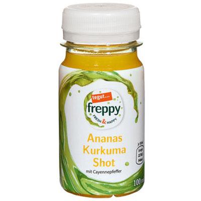 freppy Ananas Kurkuma Shot