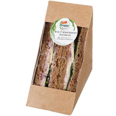 freppy Brie Preiselbeeren Sandwich