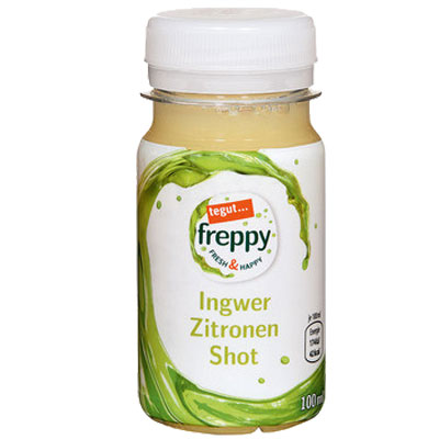 freppy Ingwer Zitrone Shot