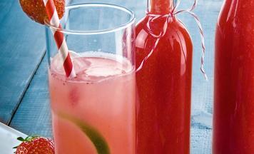 Erdbeer Limes Limetten