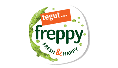 tegut... freppy Logo