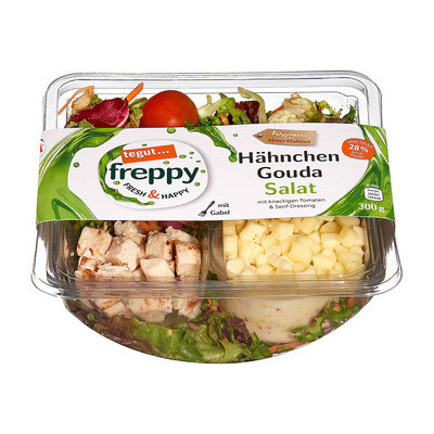 Freppy Hähnchen Gouda Salat