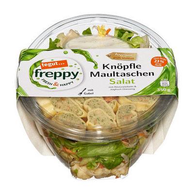 Freppy Knöpfle Maultaschen Salat