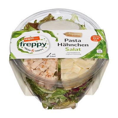 Freppy Pasta Hähnchen Salat