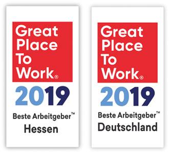Great Place To Work 2019 Beste Arbeitgeber Hessen