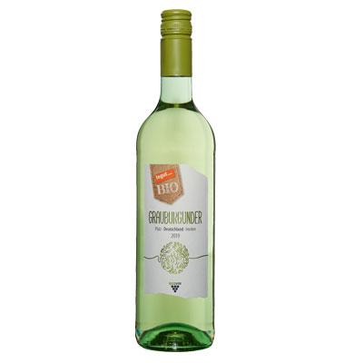 Flasche tegut demeter Grauburgunder