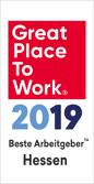 Einer der besten Arbeitgeber in Hessen (2019)