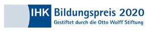 IHK Bildungspreis 2020 gestiftet durch die Otto Wolff Stiftung
