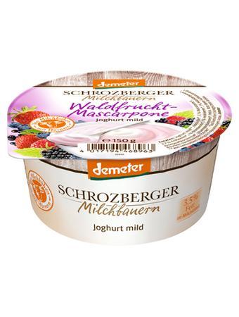 Darstellung von Schrozberger Joghurt mild Waldfrucht Mascarpone