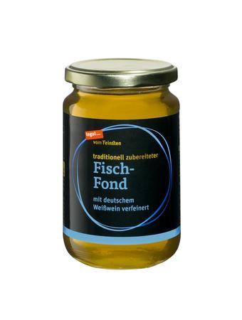 Darstellung von Fisch-Fond
