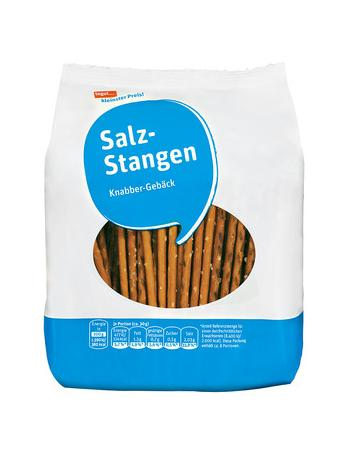 Darstellung von Salz-Stangen