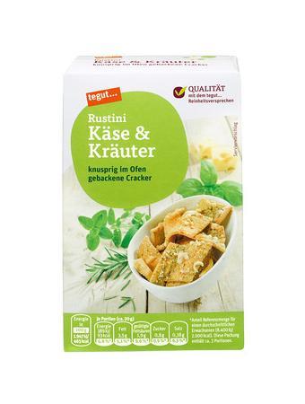Darstellung von Rustini Käse & Kräuter