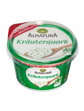 Darstellung von Alnatura Kräuterquark