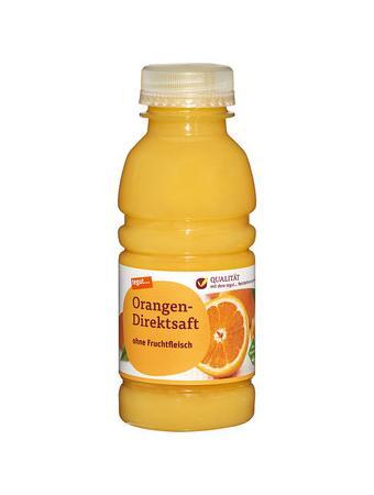 Darstellung von Orangen-Direktsaft 330 ml