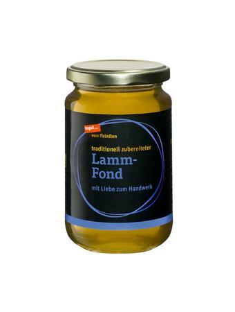 Darstellung von Lamm-Fond