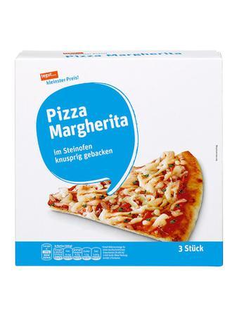 Darstellung von Pizza Margherita