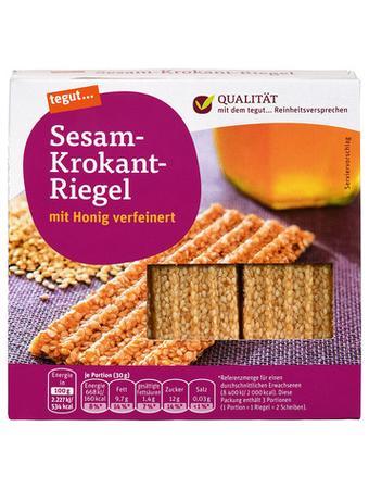 Darstellung von Sesam-Krokant-Riegel