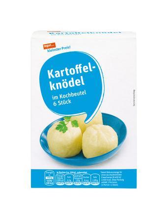Darstellung von Kartoffelknödel
