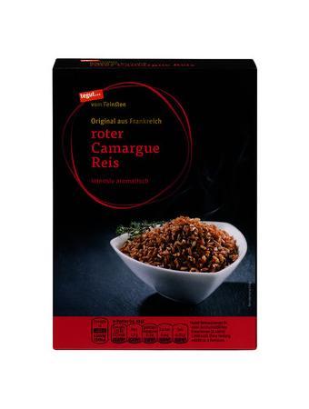 Darstellung von roter Camargue Reis